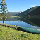 Spring Creek Reservoir, Colorado by Cari Graves