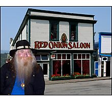 Red Onion Saloon Skagway Photographic Print