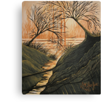 Brush Fire Brook Canvas Print
