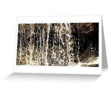 A Waterfall of Relief Greeting Card