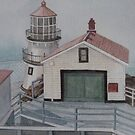 Pt. Reyes Lighthouse by Sally Sargent