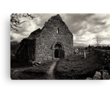 Ullard Church, near Graiguenamanagh, County Kilkenny, Ireland Canvas Print