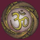 Om - The Hymn Of The Universe - T-Shirt by RIYAZ POCKETWALA