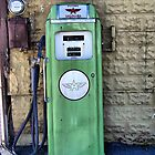 Retro Gas Pump by James Brotherton