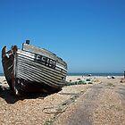 Dungeness Fishing Boat by Liz Garnett