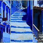 The Blue City IV by Damienne Bingham