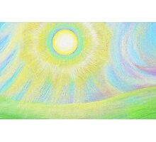the sun shines brightly Photographic Print