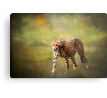 H is for........Hot Pursuit Metal Print