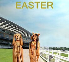 The Scream World Tour with Fashion Ascot Races Happy Easter by Eric Kempson
