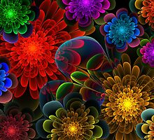 Fractal Bouquet by Lyle Hatch