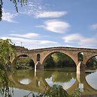 Puente la Reina by Hilda Rytteke