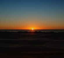 Sunset at the Dunes by Renee D. Miranda