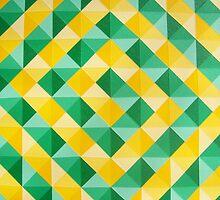 Cadmium Yellow Cadmium Green by Daniel Icaza
