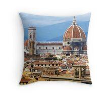 Duomo, Florence Throw Pillow
