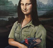 Mona Lisa, Devil Keeper by SnakeArtist