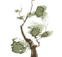 Little Zen Tree 171 by Sean Seal
