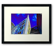 Rainbow Towers Framed Print