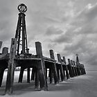 LYTHAM OLD PIER, BLACKPOOL by Phil  WEBB