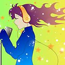 Gradient Singer by HappyApple