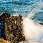 The Splash - Atlantic Wave Meets Jersey Rock by Murph2010