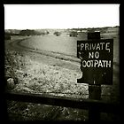Private - No Footpath by GaryDanton
