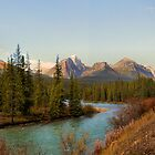 Bow Range - Banff National Park by JamesA1