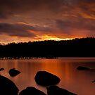 Norfolk Bay Sunset by Ian Stevenson