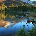 Mt. Jefferson from Scout Lake I by Tula Top