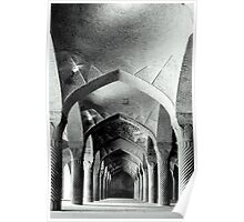 Columns and Arches Poster