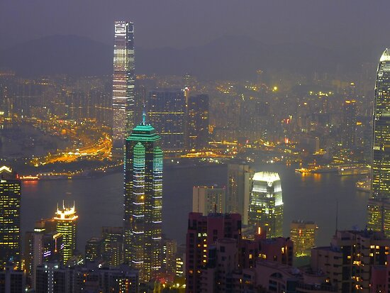 Hong Kong by night by supergold