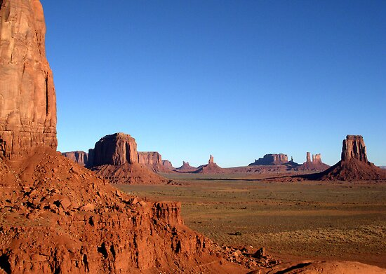 Magnificent Monument Valley, Arizona by Margaret  Hyde