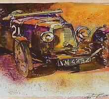 Classic Bentley by DannyBurns