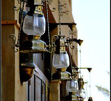 Lamps in the Wind, Bab al Shams by Mira Joshi