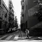 Tourist - Barcelona - Kids in the street by busteradams