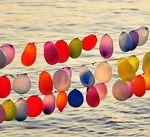 Balloons - Sea of Marmara, Istanbul by gnupa