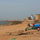 Fishermans Beach, Hythe by Liz Garnett