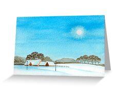 WINTER BEAUTY 01 Greeting Card