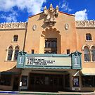 Santa Fe - Adobe Theater by Frank Romeo