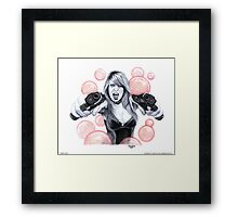 """""""Bubble Trouble"""" Framed Print"""