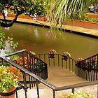 Riverwalk Stairs by Jamie  Armbruster