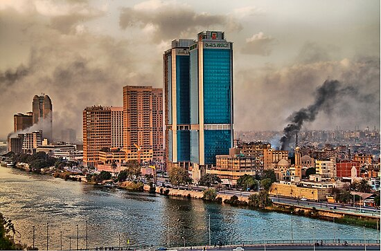 Egypt. Burning Cairo. by vadim19