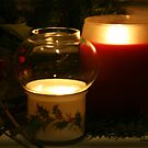 Holly Leaves and Candles Aglow... by SummerJade
