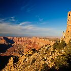 Grand Canyon - Desert View Tower by Andrei I. Gere