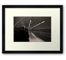 Sepia Series 4 Framed Print