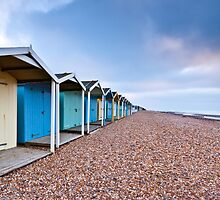 Beach Huts by Leon Ritchie