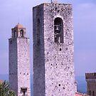 Towers, San Gimignano, Tuscany, Italy. by johnrf