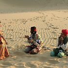 Entertainment in the Rajasthan Desert by TracyS