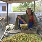 Fruit seller, Rajasthan by TracyS
