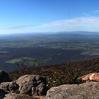Mt William Panorama by Daniel Berends