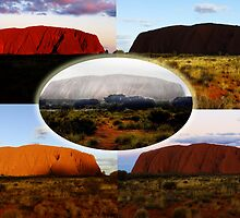 The Many Moods of Uluru by Julia Harwood